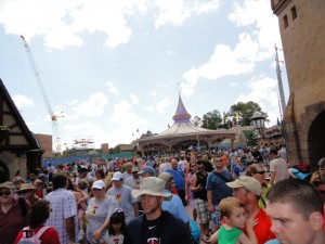 Fantasy Land later in the day - Crowded!